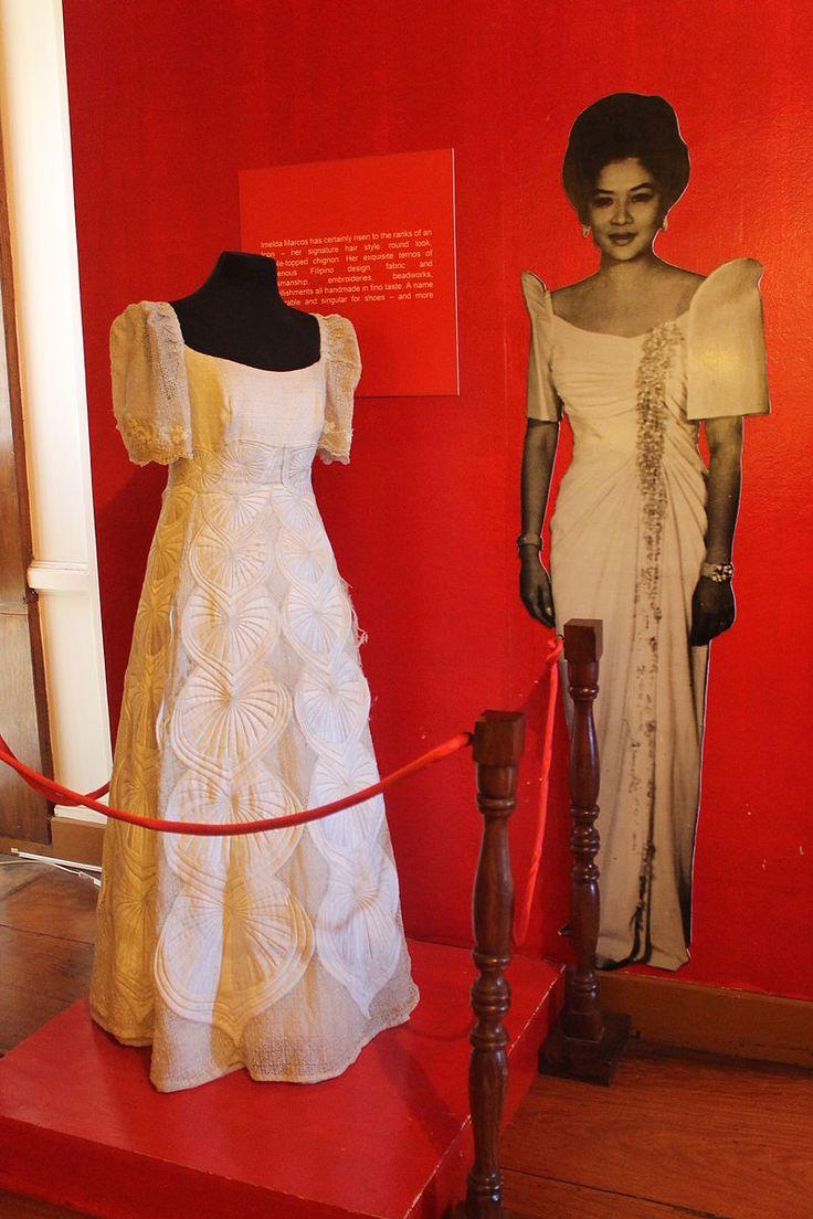 Philippine terno exhibit maria clara gown wikipedia