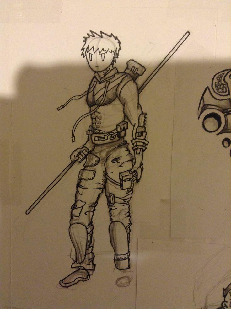 Random character design.  -Tim Noakes