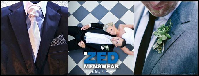 ZED MENSWEAR - Cape Town Wedding Suits / Tailors