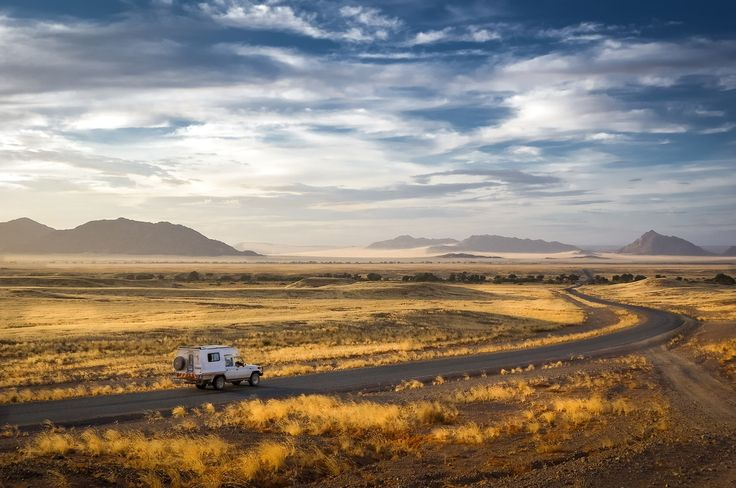 """""""Road to Sossusvlei"""" in Namibia ©Gary Proctor"""