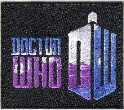 Doctor Who: New Series Embroidered Patch 3.5 11th Doctor Matt Smith @ niftywarehouse.com #NiftyWarehouse #DoctorWho #DrWho #Whovians #SciFi #ScienceFiction #BBC #Show #TV