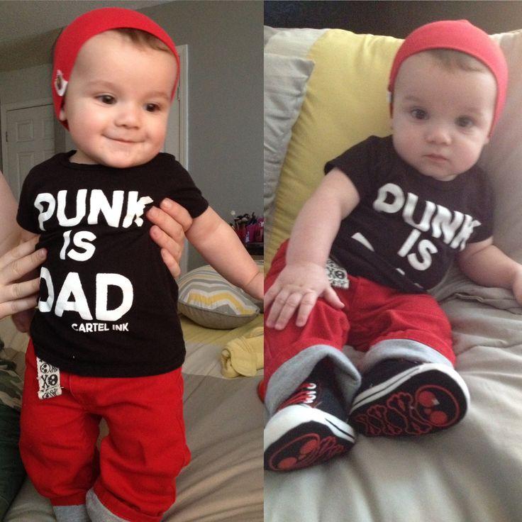 My punk baby boy