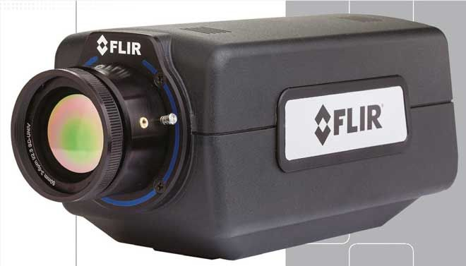 Compact Thermal Imaging Camera with Cooled InSb Detector