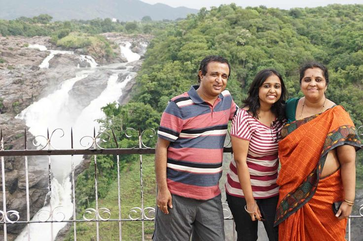 #Weekend outing with family near #Shivanasamudra #waterfalls