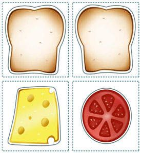 Sandwich Printables for Kids - Kids' Lunch Printables - Kaboose.com