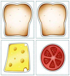 Sandwich Printables for Kids - Kids' Lunch Printables - Kaboose.com