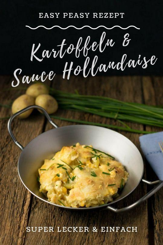 """""""Wenn es schnell gehen muss und trotzdem schmecken soll"""" - schnelles Rezept für Kartoffelgratin mit Sauce Hollandaise"""