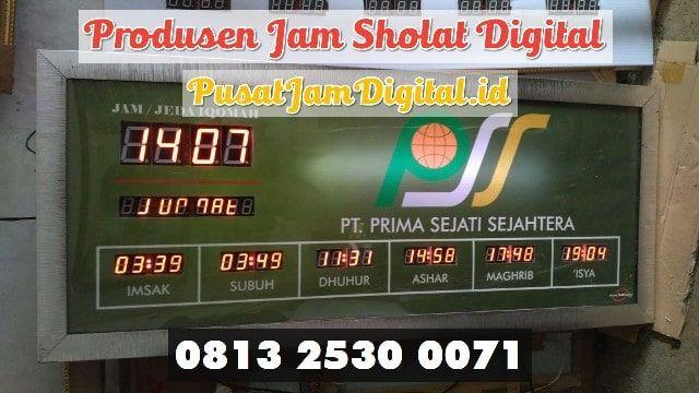Adzan Sholat Otomatis Di Bungo Wa 0813 2530 0071 Workshop Jam