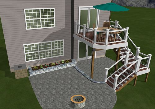3D Deck & Patio | Multi-level entertaining options | Breyerconstruct | Flickr