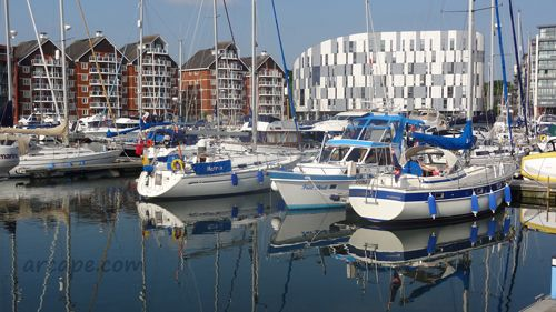 Arcape is based in the Suffolk county town of Ipswich in the UK.  Ipswich Waterfront is a popular area in the town.