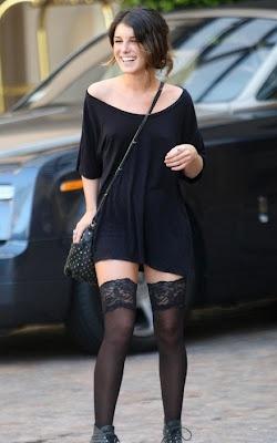 Tee Shirt dress style - Shenae Grimes.