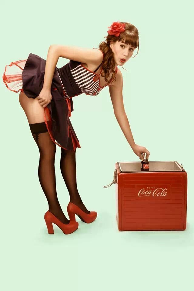 Popolare 1944 best Coca Cola girls, then & now images on Pinterest | Coca  RA56