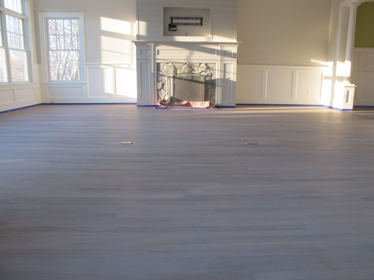 grey hardwood floor this is red oak turned grey with white in the grain - Grey Hardwood Floors