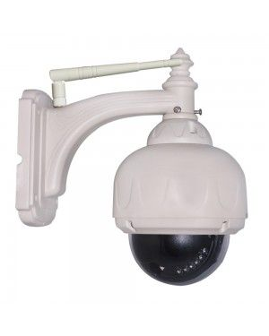 Wanscam HW0028 Outdoor IR-CUT Zoom Dome Day & Night PTZ WiFi IP Camera