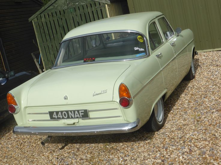 Ford Consul 375 1961 Classic Cars Old Cars Cars