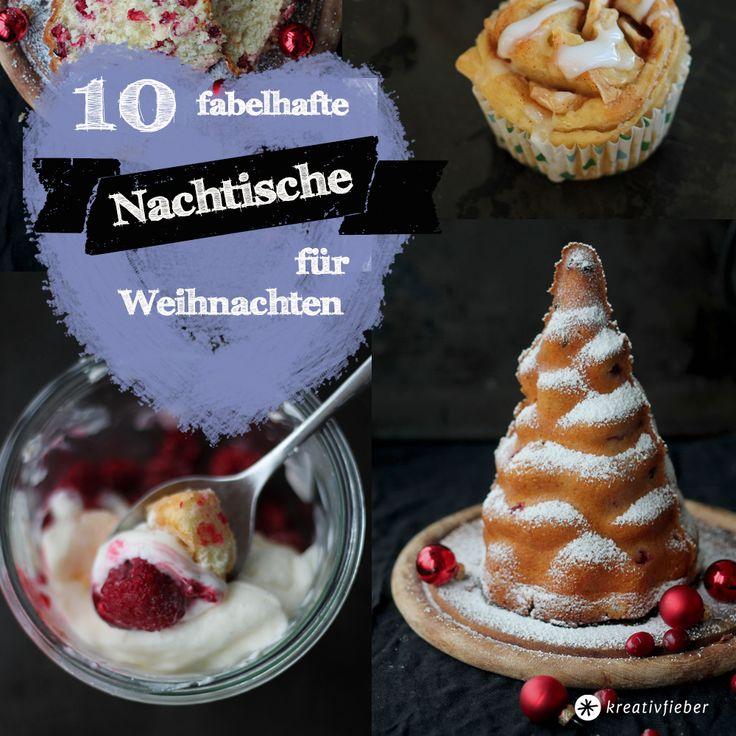 10 leckere Nachtischideen für Weihnachten. Unsere Lieblingsdesserts 2014!