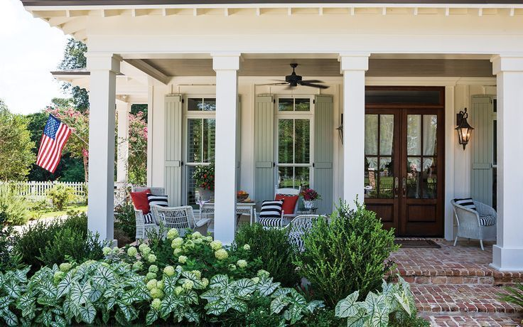 5 Fabulous Southern Porches Southern Porches Country Farmhouse