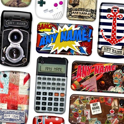 Personalised BLENDit phone cases from Firebox