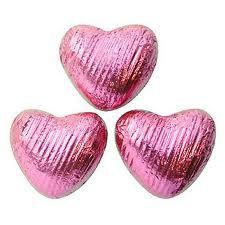 Pink heart chocolates - #ShareTheLove