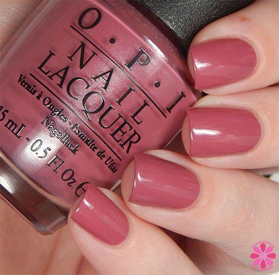 Opi Nail Polish Mauve Color: Just Lanai-ing Around