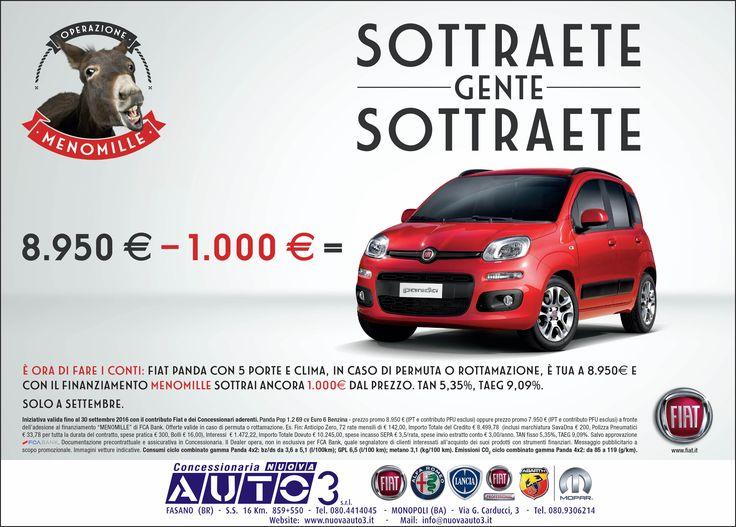 SOTTRAETE GENTE SOTTRAETE...  http://www.nuovaauto3-fcagroup.it/fiat