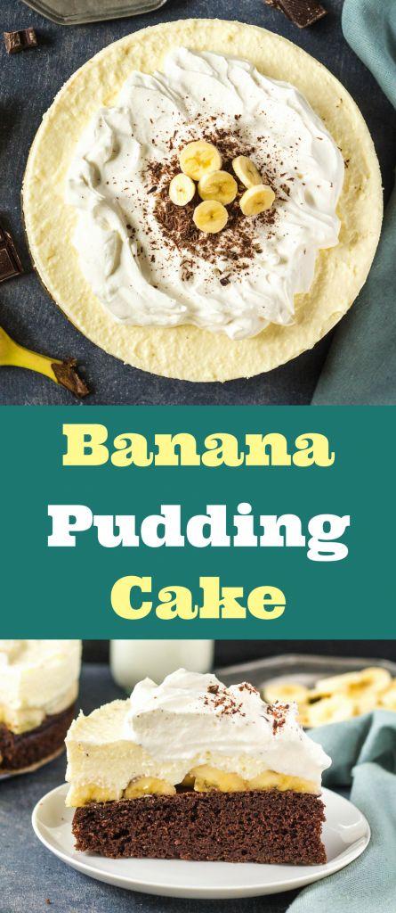 "Banana Pudding Cake - ""Cake"" made from chocolate sponge cake with real chocolate, filing using real bananas, banana puddings and sour cream and whipped cream  #recipebananapuddingcake #receptpudingovabananovatorta #bananovykolac #receptkolacbananpuding #bananapuddingwhippedcreamchocolaterecipe #bananarecipe #bananslahackacokoladapudingrecept"