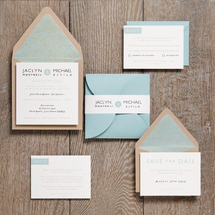31 best Wedding Invitation Ideas images on Pinterest | Invitation ...