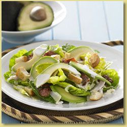 Avocado and Chicken Caesar Salad Recipe - Avocados Australia
