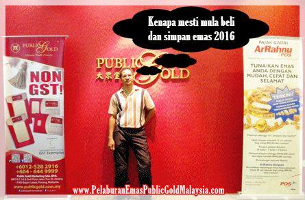 Promosi berniaga emas, kenaikan kos sara hidup, harga emas termurah, persiapan hadapi krisis ekonomi antara sebab kenapa mesti beli emas awal tahun 2016