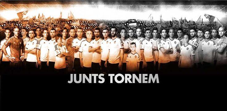 Aquest any tornem més forts que mai. Sempre, Amunt València!