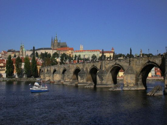 Karel IV - Hradčany, Karlův most