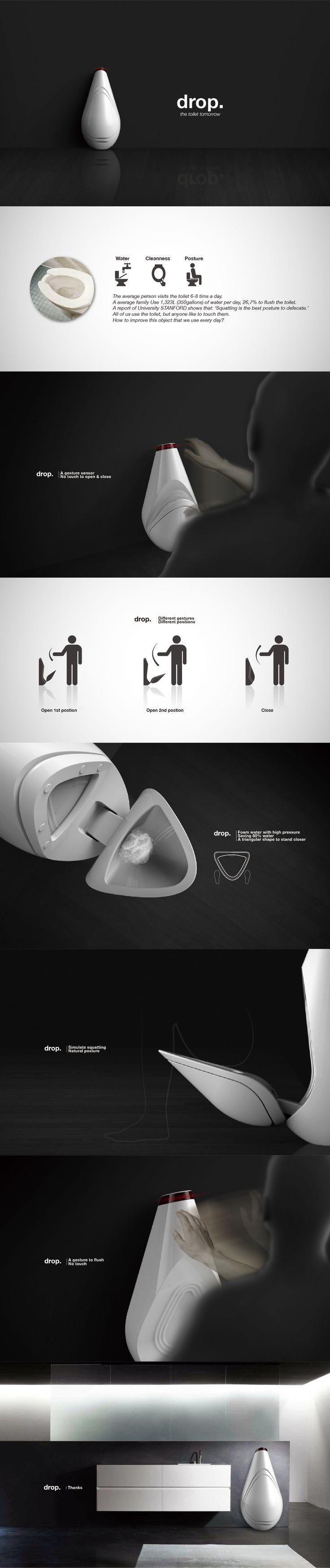 Drop, a prospective concept. 2013 Personal project.