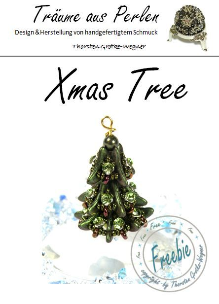 christmas tree free pdf ~ Seed Bead Tutorials