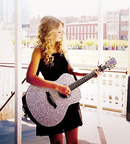 Taylor Swift Style Glitter Sparkle Acoustic Guitar | eBay