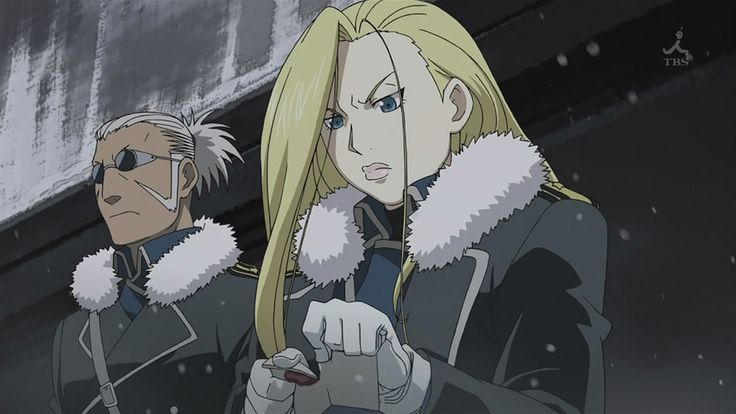 23 best Olivier Armstrong, FMA Brotherhood images on ...