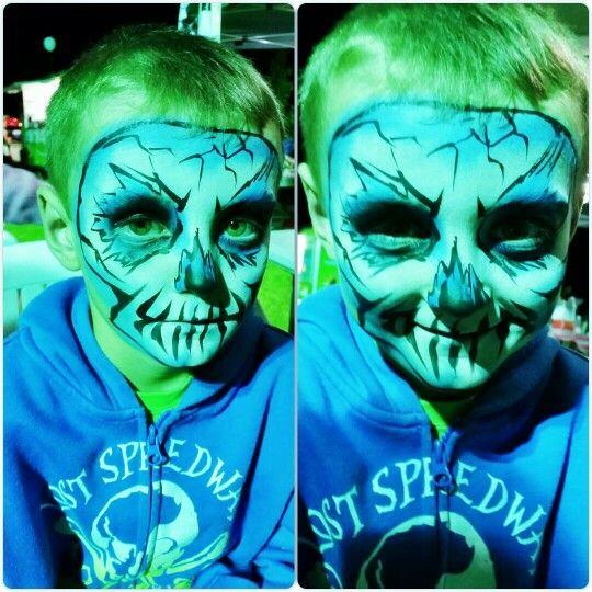 Ice skull - coolest little dude ;)
