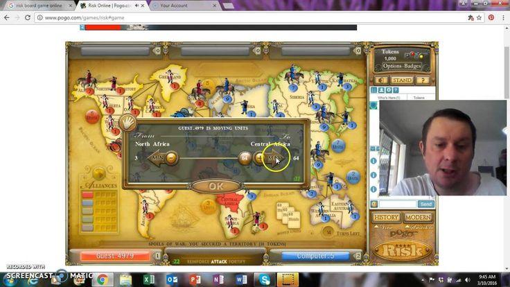 Risk World Domination End Game 1 vs.1