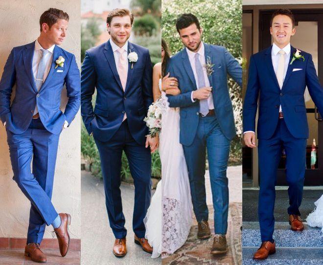 Terno Azul: A Tendência Do Ano Para Os Noivos - Dudes Modernos