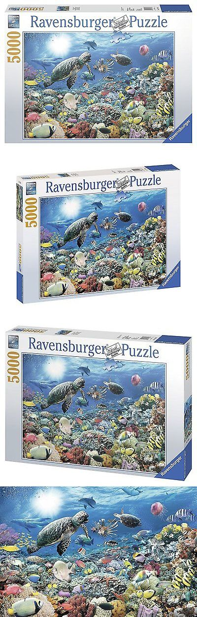 Other Contemporary Puzzles 2615: Ravensburger Beneath The Sea - 5000 Piece Puzzle -> BUY IT NOW ONLY: $58.86 on eBay!