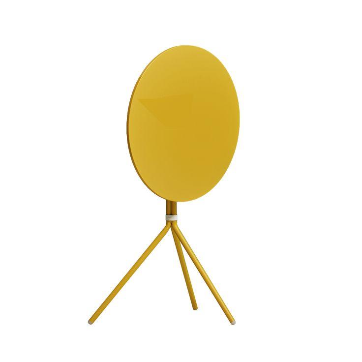 Nolita 5453T table #basiccollection #design #table #yellow #color #foldingtop