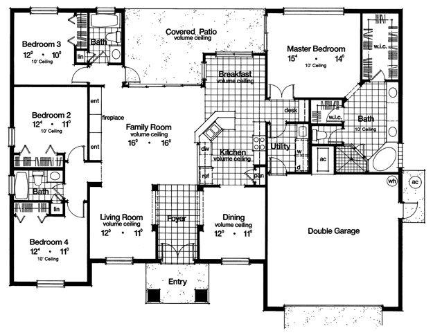 Grundriss Bungalow 25 Pinterest Haus