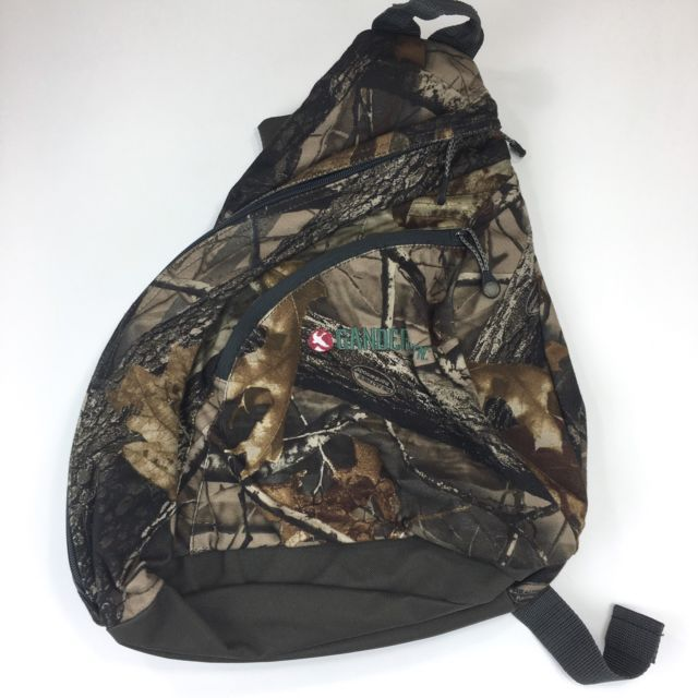 Camo Gander Mountain Backpack Real Tree Camouflage Sling Hunting Bag | eBay