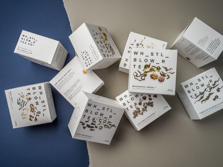 Whistle Blower Tea Co. on Packaging of the World - Creative Package Design Gallery