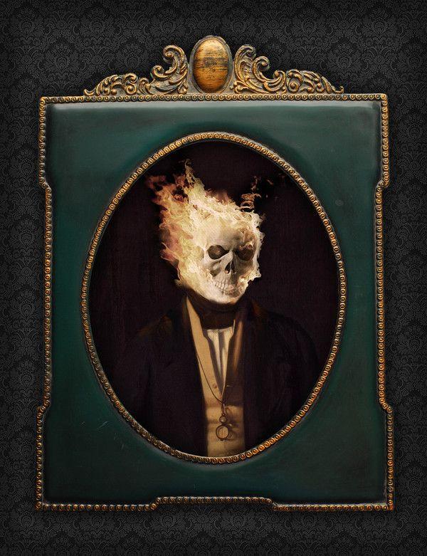 Ghost Rider - Portrait, Like a Sir by Berk Senturk on bloodyloud.com