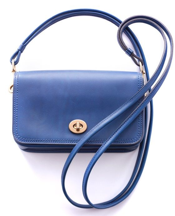 The Coach Legacy Penny Shoulder Purse in Cobalt. (I have it in grey)