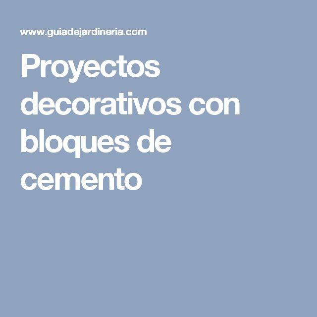 M s de 1000 ideas sobre estantes de bloques de cemento en for Bloques decorativos