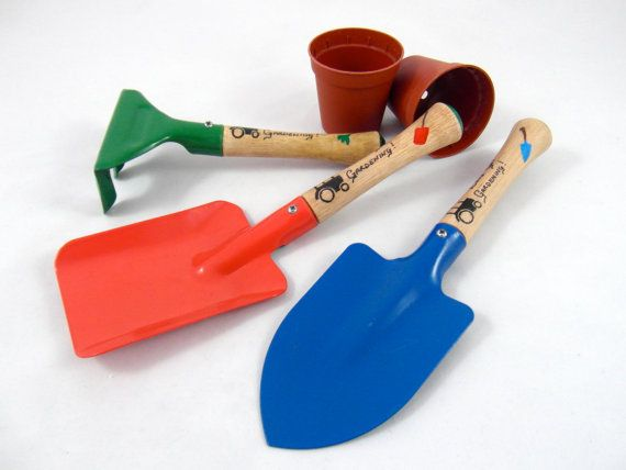 Childrens Gardening Set Gardening tools by BlossomingWorkshop, £9.99