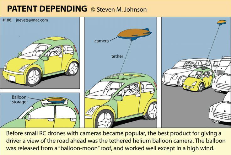 Steven M. Johnson's Bizarre Invention #188: The Automotive Balloon Moon Camera
