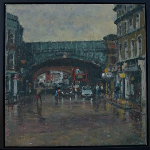 Rational Expressions | Battersea Park Road Bridge by Rod Pearce