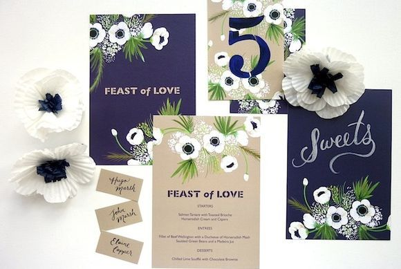 Berinmade wedding stationary